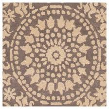 hand tufted modern suzani medallion beige and gray area rug target