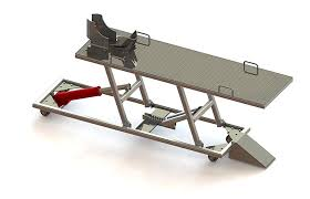 motorcycle lift table plans bike lift assembly guide