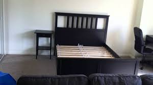 bedding personable ikea hemnes bed white stain shop fowarding part