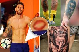 the 17 worst footballer tattoos ever lionel messi joins the list