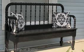 Iron Bedroom Bench 50 Headboard Bench Ideas My Repurposed Life