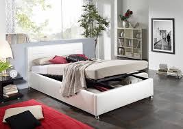 Schlafzimmer Bett Auf Raten Sam Design Bett 180 X 200 Cm Weiß Kira Bettkasten