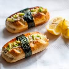 japanese fusion cuisine sushi buns of these california brioche rolls are the