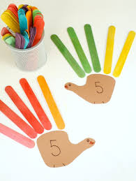 turkey feather math thanksgiving activity fantastic learning
