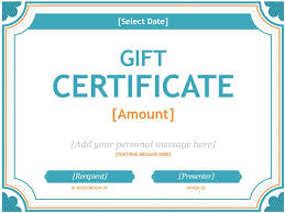 25 unique gift certificate templates ideas on pinterest gift