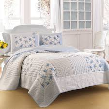 laura ashley twin patchwork quilt