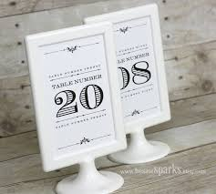 wedding table numbers template best photos of 4x6 table number template free printable table