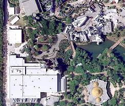 aerial view of beast u0027s castle at walt disney world reveals forced