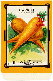 seed packets carrot seed packet free vintage image design shop