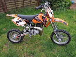 ktm 50 senior adventure 2005 model kids motocross bike good