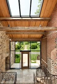 modern reinterpretation of a historical rural house in pennsylvania