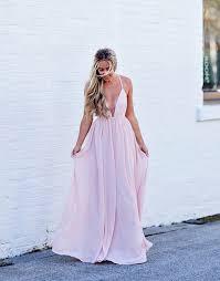 light pink graduation dresses open back prom dress spaghetti straps party dress light pink