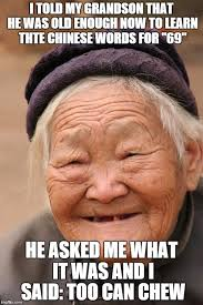 Chinese Memes - chinese lady memes imgflip