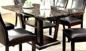 faux marble dining room table set marble dining room table furniture of modern faux marble top dining