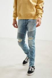 Ripped Knee Jeans Mens Men U0027s Jeans Ripped Skinny Jeans Urban Outfitters