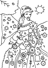 planting carrot seed garden coloring pages color luna