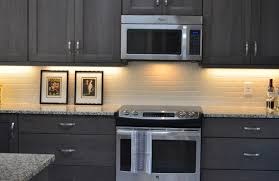 cabinet black stained kitchen cabinets design really like these