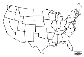 map of us states empty us state map blank pdf usa with fill in justinhubbardme 50