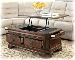 flip top coffee table living room table with lift top oval coffee table with lift top