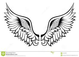 wings design stock vector illustration of print 26194262