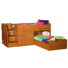 Twin Bedroom Sets Are They Beneficial Berg Furniture Sierra Captain U0027s Twin Over Twin Bed For Two Free