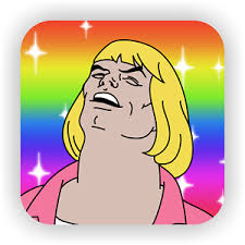 He Man Meme - heyeayeayea oh my god he man internet meme drink coaster gift