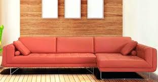orange leather sectional sofa italian leather sectional sofa ipbworks com