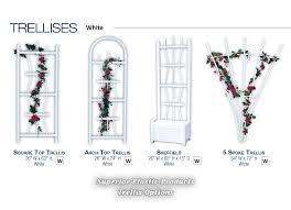quality vinyl garden trellises superior plastic products