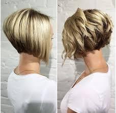 Bob Frisuren Bei Dickem Haar by 10 Trendy Gestapelt Frisuren Für Kurze Haare Praktikabilität