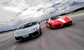 enzo vs lamborghini aventador performance the motorsport lab