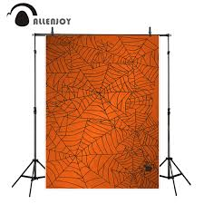 halloween orange background online get cheap spider backgrounds aliexpress com alibaba group