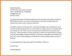 6 thank you letter to after resignation sle resign