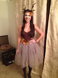 Halloween Costumes Ideas For Adults 15 Super Fun Halloween Costumes For Girls Deer Costume Earthy