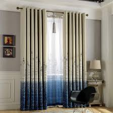 discount blue blackout curtains 2017 blue blackout curtains on