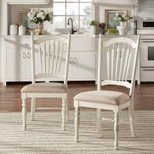 White Wood Dining Room Table by Home Styles White Wash Wood X Back Dining Chair Set Of 2 5170