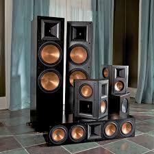 klipsch quintet home theater system standard home cinema system indoor 5 1 rf 7 ii klipsch