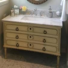 Antique Dresser Vanity Vanities Repurpose Dresser Into Bathroom Vanity Antique Dresser