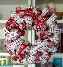 Red And White Christmas Door Decorations by So Can You A Christmas Wreath Yourself Diy U2013 50 Of The Most