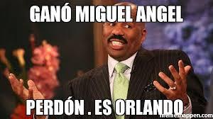 Miguel Meme - ganó miguel angel perdón es orlando meme steve harvey 40464