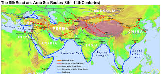 printable road maps silk road maps 2018 useful map of the ancient silk road routes