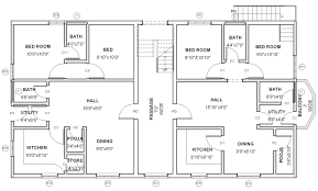 house designs floor plans architect home plans house plan at work blueprints modern small