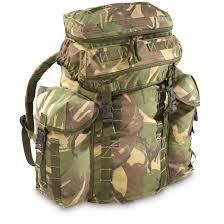 rucksack design surplus dpm camo rucksack used 671114
