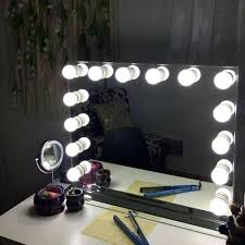 hollywood mirror with light bulbs showgirl light glass mirror lick and lash hollywood mirror big 2