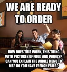 Funny Server Memes - scumbag restaurant customer memes quickmeme