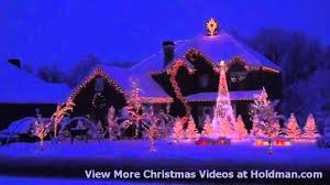 christmas light show house music holdman christmas lights amazing grace techno youtube youtube