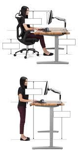 The Range Computer Desk Ergonomic Calculator Uplift Desk