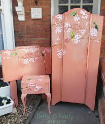Babies Bedroom Furniture Sets by Painted Vintage Furniture Set For Girls Nursery Bedroom Wardrobe