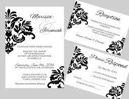 Diy Wedding Invitations Templates Diy Wedding Cards Ideas Yaseen For