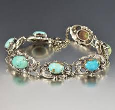 bracelet silver turquoise images Antique arts crafts silver turquoise bracelet boylerpf jpg