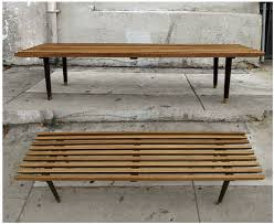 Slat Bench George Nelson Style Slat Bench 285 Apartment Therapy